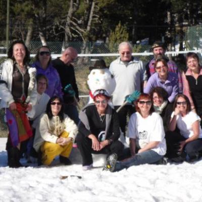 Week End à la neige 2009