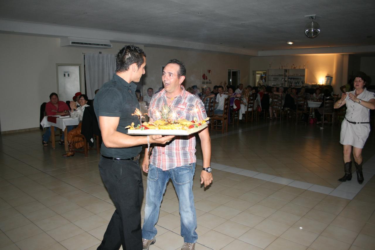 repas fin d'année 2012